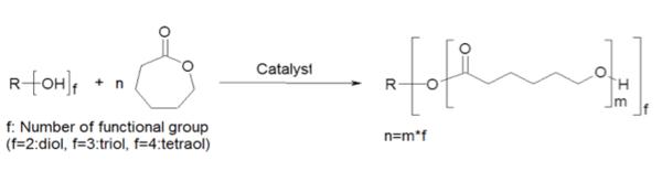 caprolactone-monomer-reaction