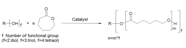 caprolactone-monomer-reaction