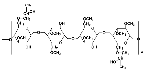 HPMC Chemical Structure
